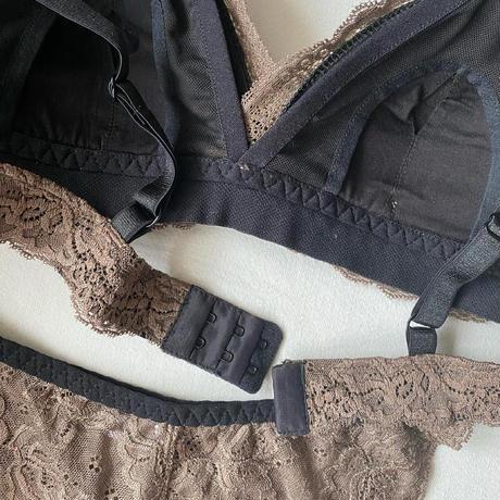 Numéro5 Mommy bra brown  【  L-0015】