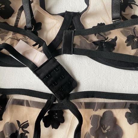 選べる S・Msize beige × black 【A-0289】