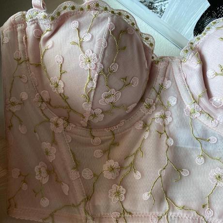 pink corset set up  【 A-0303-PI】