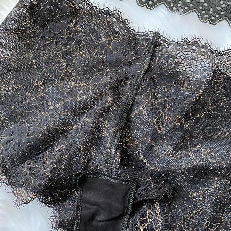 black ×  bronze beige   【T-0115】