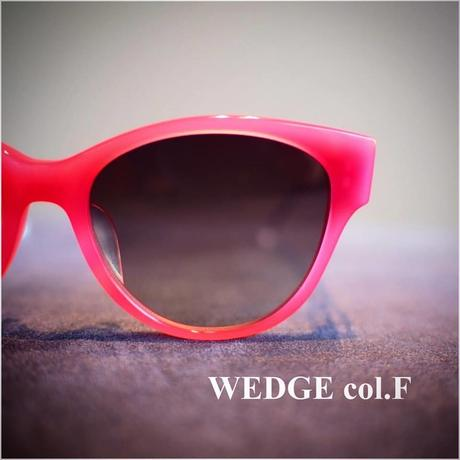 サングラス/WEDGE(Pink×Clear)
