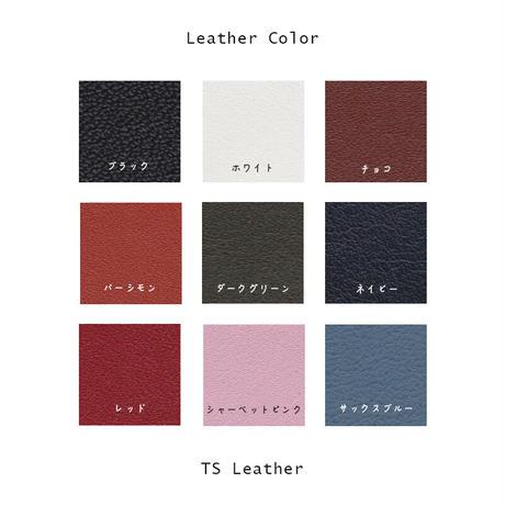 50mm Width Genuine Leather Guitar Strap / Standard Design ( TS Leather )