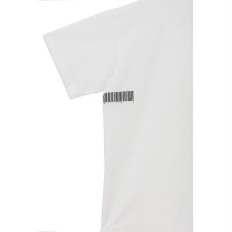 半袖Tシャツ(バーコード)/(white)