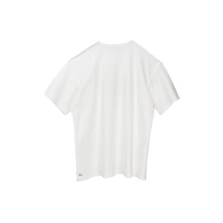 【ユニセックス】プリント半袖Tシャツ(white)