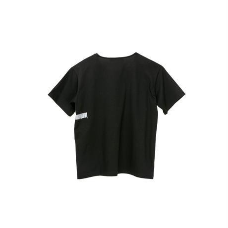 半袖Tシャツ(バーコード)/(black)