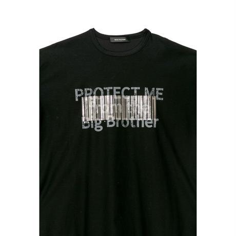 【ユニセックス】プリント半袖Tシャツ(black)