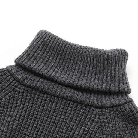 タートルネック(charcoal gray)