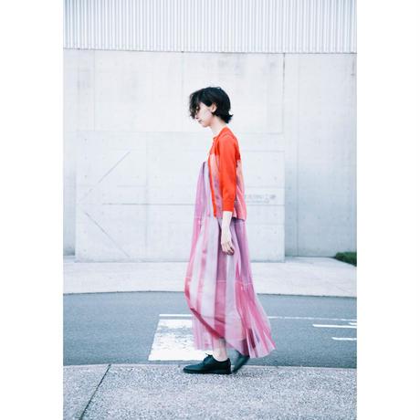 チュールパンツワンピース(数字柄)/(pink)