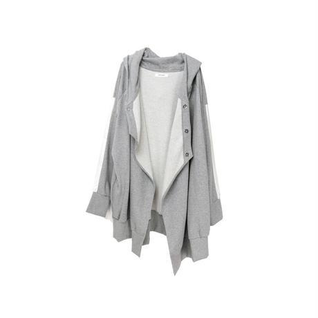 【ユニセックス】裏毛パーカー(light gray)