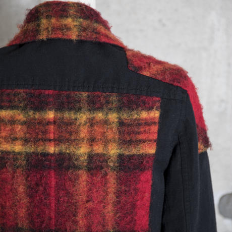 Riders jacket(red check)