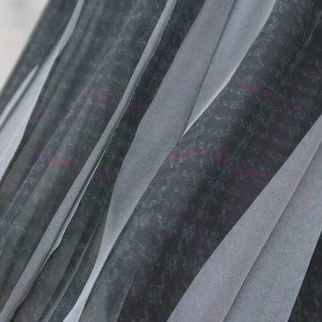 シフォンパンツ(gray check)