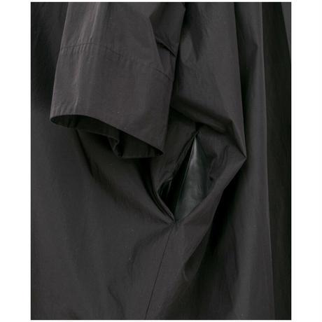 【ユニセックス】ビッグシャツ(black)