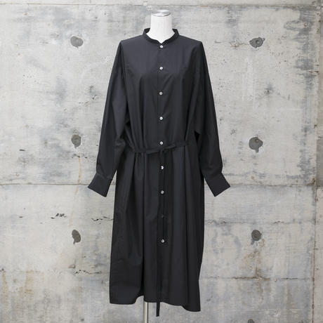 シャツワンピース(black)