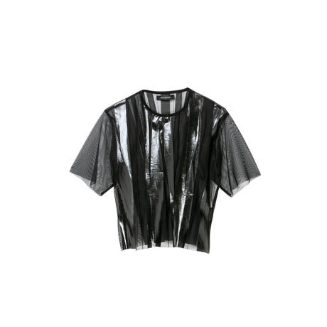 ラバーチュールTシャツ(black)