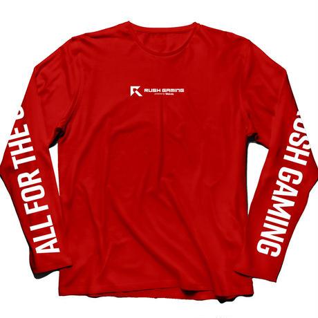 Rush Gaming Long T-shirts (Red)