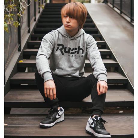 Rush Gaming チームロゴパーカー (Gray)