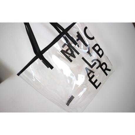 PVCロゴトートバッグ