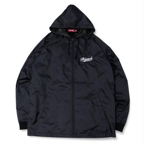Nylon Zip Hooded