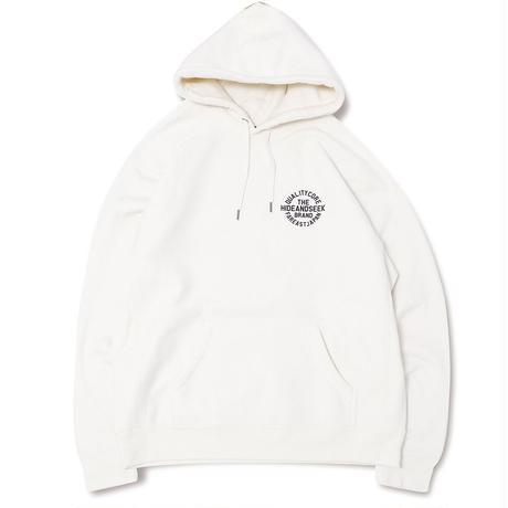 Circle Logo Hooded Sweat Shirt