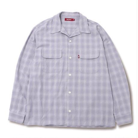 Check Open Collar Shirt