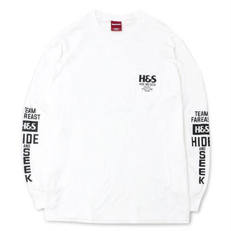 H&S Pocket L/S Tee