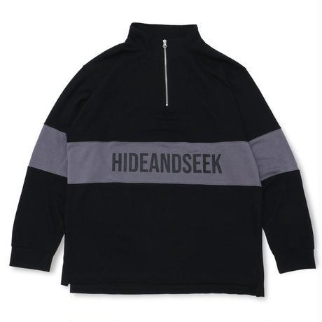 Zip Highneck Sweat Shirt