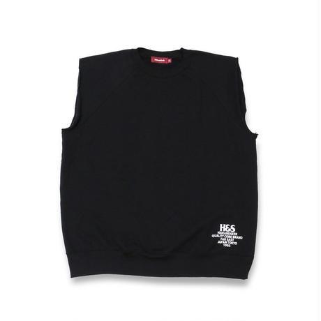 Cut Off Crewneck Sweat Vest