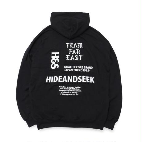 Patch Hooded Sweat Shirt