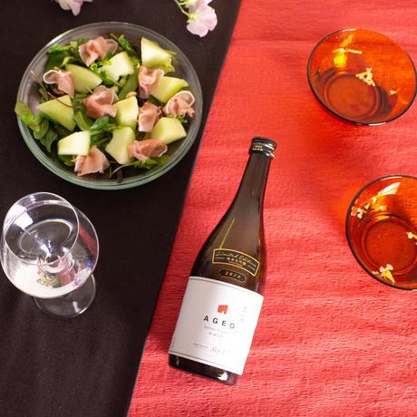 埼玉の新星。街も香りも、フルーティ。【埼玉】AGEO 純米大吟醸 2021・無濾過生原酒