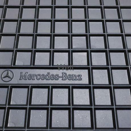 Mercedes-Benz 純正品 W463 Gクラス 左ハンドル用 ラバーフロアマット