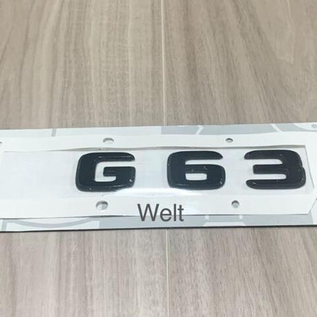 Mercedes-Benz 純正品 W463A G63  ブラック エンブレム  AMG