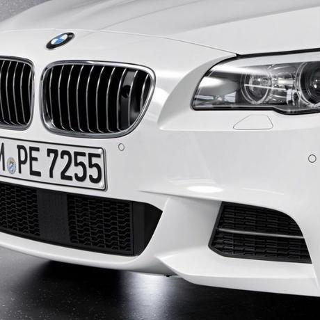 BMW 純正品  5シリーズ F10 Mスポーツバンパー用 フォグランプレス オープングリル 左