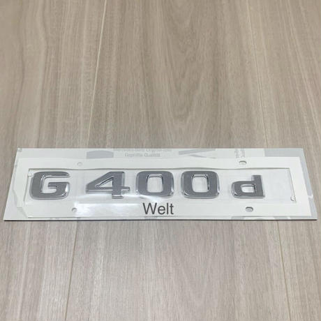 Mercedes-Benz 純正品 W463A G400d エンブレム
