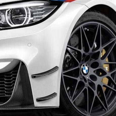 BMW 純正品 M4 DTM カーボン フロント カナード 左右セット M3 F80 M4 F82F83