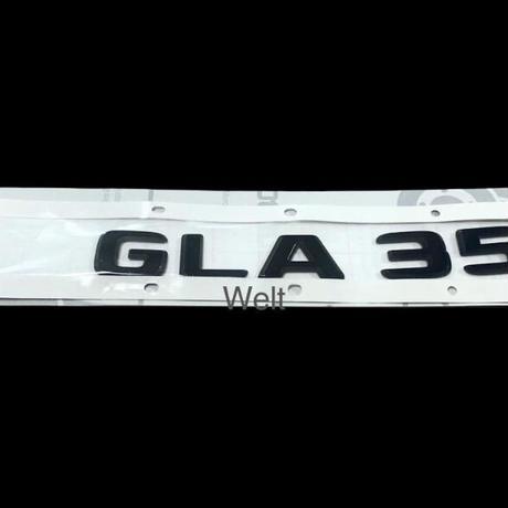 Mercedes-AMG 純正品 H247 GLA35 ブラック リア エンブレム