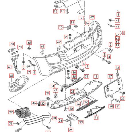 Audi 純正 R8(42) エアダクト 右