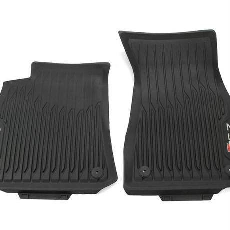 Audi 純正品 RS7 C8 4K 左ハンドル用 オールウェザー ラバーフロアマットセット