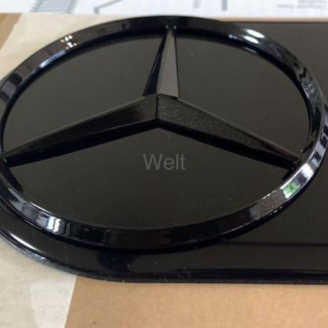 Mercedes-Benz 純正品 W463A ナイトパッケージ スペアタイヤカバー ブラック エンブレム