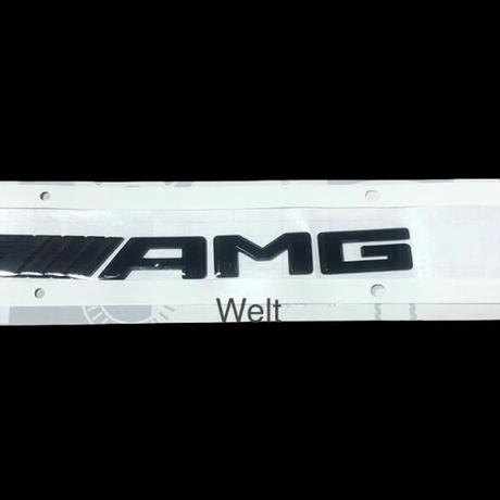 Mercedes-AMG 純正品 X247 GLB35 AMG ブラック リア エンブレム