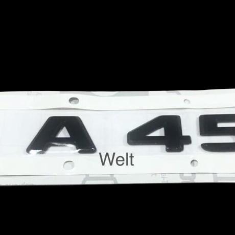 Mercedes-Benz 純正品 W177 V177 AMG A45 ブラック リア エンブレム