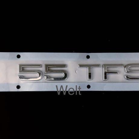 Audi 純正品 55 TFSI リアエンブレム ( A6 A7 A8 Q7 Q8 )