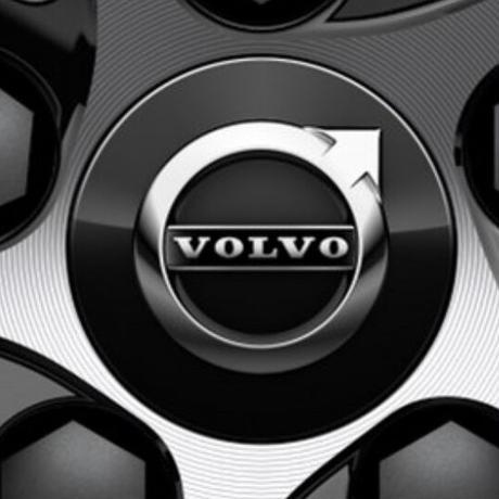 VOLVO 純正 ブラック ホイールセンターキャップセット V90 V60 XC90 XC60 XC40