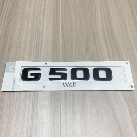 Mercedes-Benz 純正品 W463A G500 ブラック エンブレム  G550