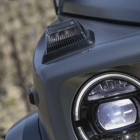 Mercedes-Benz 純正品 W463A Gクラス ナイトパッケージ インナーブラック スモーク ウィンカー 左右セット G63 AMG
