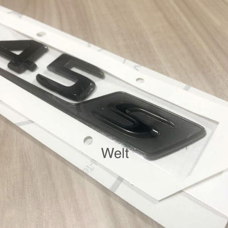 Mercedes-Benz 純正品 H247 AMG GLA45S ブラック リア エンブレム