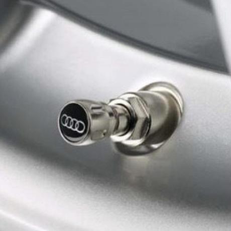 Audi 純正 エアバルブキャップ(アルミ)