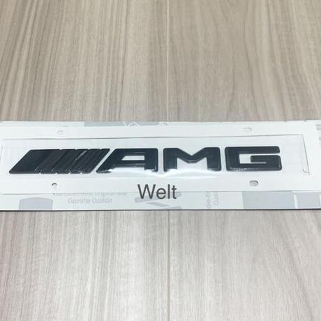 Mercedes-Benz 純正品 W463A G63 AMG ロゴ ブラック エンブレム