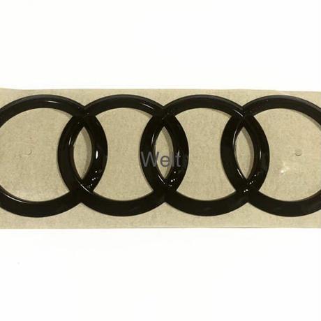 Audi 純正品 A3 S3 スポーツバック 8Y リア グロスブラック 4リングス エンブレム