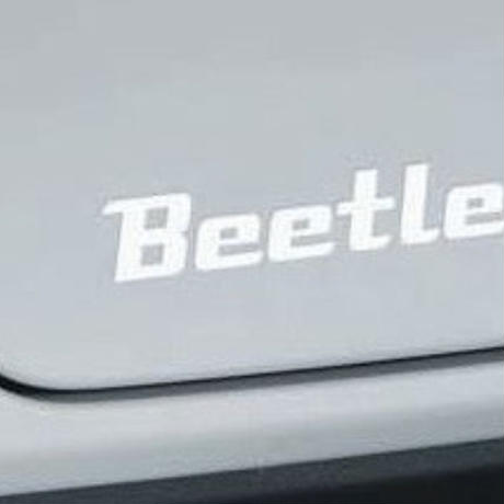 VW 純正品 ザビートル Beetle ハイクロームステッカー