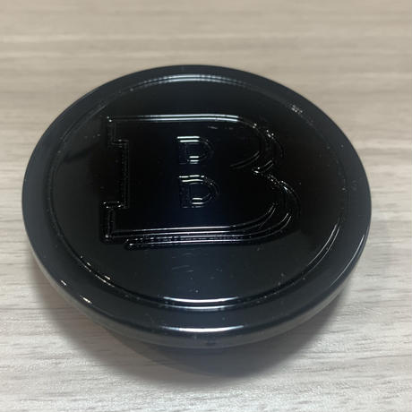 smart BRABUS  純正品 C453 W453 ナイトブラック ホイールセンターキャップセット(ハブキャップ)